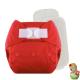 Rellenable Deluxe velcro absorbentes rojo