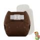 Rellenable Deluxe velcro absorbentes chocolate