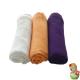 Pack de gasas blanco, melocotón y púrpura