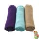 Pack de gasas púrpura, aguamarina y trigo