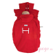 Cobertor Hoppediz de forro polar rojo