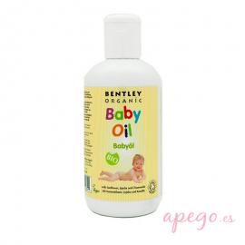 Aceite corporal para bebé Bentley Organic