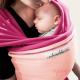 Fular elástico Je porte mon bébé fucsia rosa