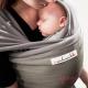 Fular elástico Je porte mon bébé oliva gris claro