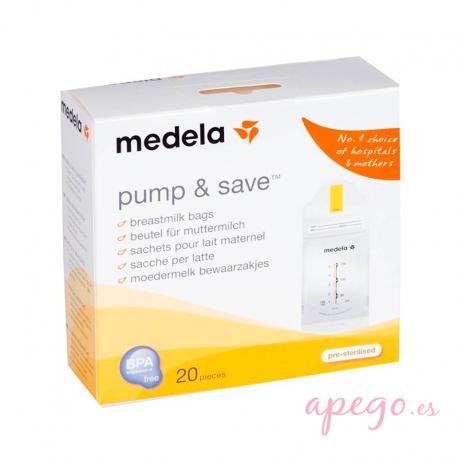 Medela Pump & Save bolsas para conservación de leche materna
