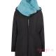 Abrigo de porteo Wallaby 2.0 negro azul sin panel frente cuello