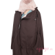 Abrigo de porteo Wallaby 2.0 marrón rosa
