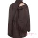 Abrigo de porteo Wallaby 2.0 marrón rosa sin cuello