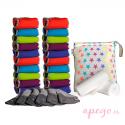Pack de 20 pañales Todo en Dos Pop in unitalla
