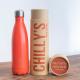 Botella Chilly's 500 ml naranja neon caja