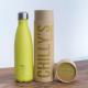 Botella Chilly's 500 ml amarillo neon caja