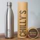 Botella Chilly's 750 ml inox caja