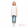Camiseta Baby de Mit Mat Mama premamá blanco