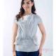 Camiseta de porteo Quokkababy gris perla