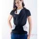 Camiseta de porteo Quokkababy negro