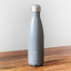 Botella Chilly's 500 ml gris mate