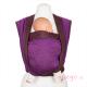 Fular tejido Hoppediz Jacquard New York mocca violeta