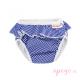 Bañador pañal Imse Vimse white blue stripes