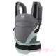 Mochila Manduca XT Butterlfy grey lateral