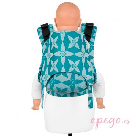 Mochila portabebés Fidella Fusion Toddler 2.0 Blossom ocean blue