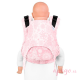 Mochila portabebés Fidella Fusion Toddler 2.0 Iced butterfly pale pink