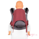 Mochila portabebés Fidella Fusion Toddler 2.0 Lines light red