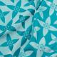 Fular tejido Fidella Blossom ocean blue