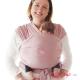Fular Manduca rosa bebe