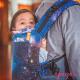 Mochila Beco Toddler Carina Nebula espalda