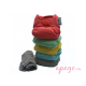 Pack 5 pañales Todo en Dos Pop in unitalla colores pastel