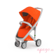 Silla de paseo Greentom Classic Grey orange 1