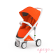 Silla de paseo Greentom Classic White orange 1