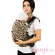 Mochila Fidella Fusion Babysize Leopard Gold