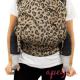 Mochila portabebés Fidella Fusion Toddler 2.0 Leopard Gold Detalle