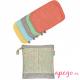 Toallitas lavables de bambú Pop in colores pastel