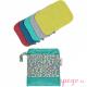Toallitas lavables de bambú colores vivos pop in