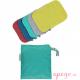 Toallitas lavables de bambú pop in colores vivos