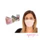 Mascarillas higiénicas antibacterial Quokkababy adultos rosa