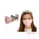 Mascarillas higiénicas antibacterial Quokkababy rosa niña