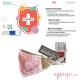 Mascarillas higiénicas antibacterial Quokkababy nño rosa
