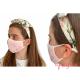 Mascarillas higiénicas antibacterial Quokkababy rosa niño niña