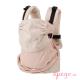 Mochila portabebés Easy Emeibaby varitas rosa glitter