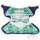 Cobertor pop in velcro round the garden interior