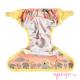 Cobertor pop in velcro cheetah interior