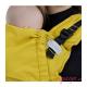 Mochila Fidella Fusion Babysize chevron mustard detalle