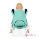 Mochila portabebés Fidella Fusion Toddler 2.0 Chevron mint
