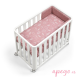 Minicuna/cuna Doco sleeping Cotinfant natural rose