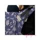 Mochila Fidella Fusion Babysize floral touch eclipse blue detalle