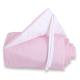 Protector para minicuna Maxi o Boxspring Rosa