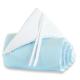 Protector para minicuna Maxi o Boxspring Azul turquesa